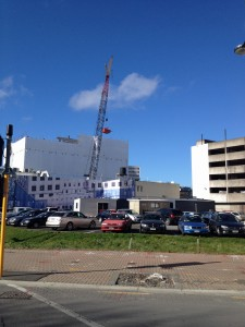 Christchurch being rebuilt