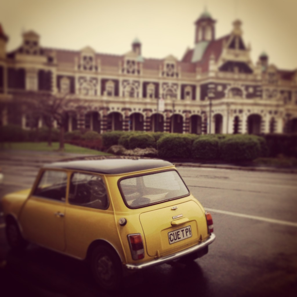 Dunedin railway station mini