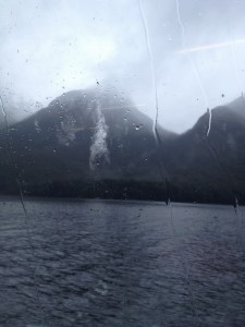 Doubtful Sound rain