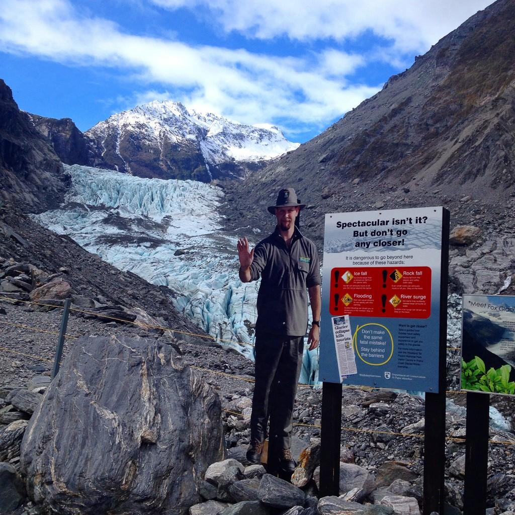 Fox Glacier stop!