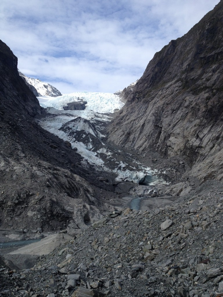 O Franz Josef glacier, where are thou?
