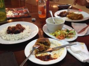 Dinner at Arcadia