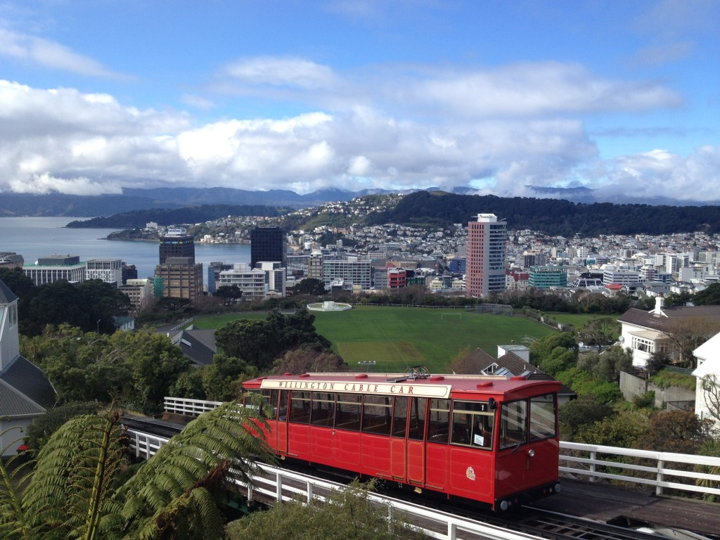 Wellington tram & city