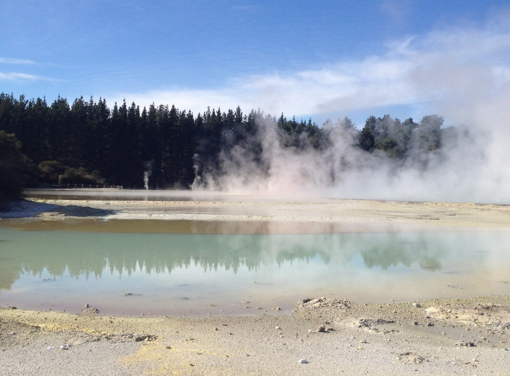Champagne Pool at Wai-O-Tapu