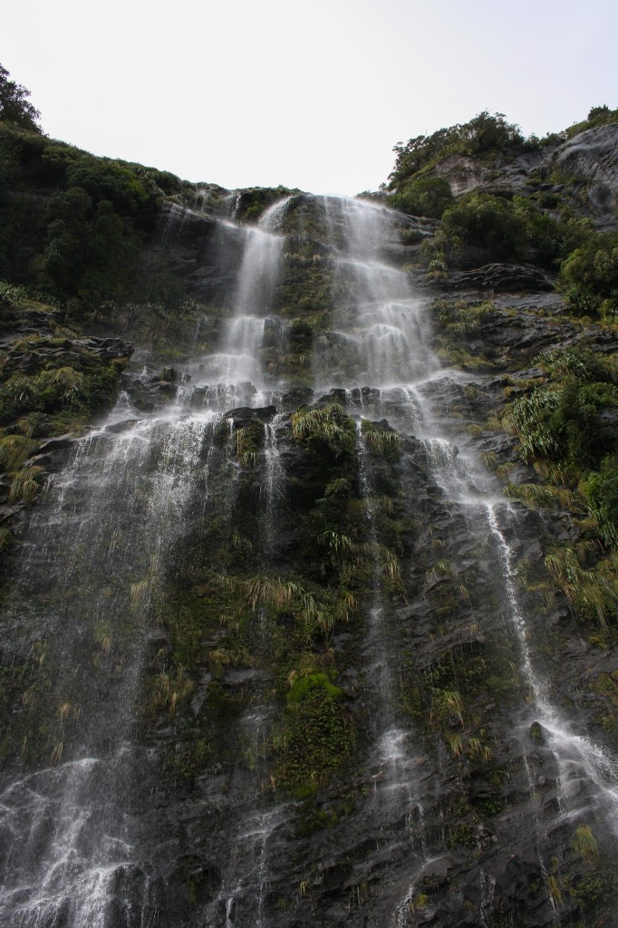 Doubtful Sound waterfall