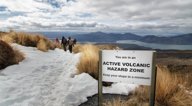 Alicioustravels: Tongariro Winter Crossing