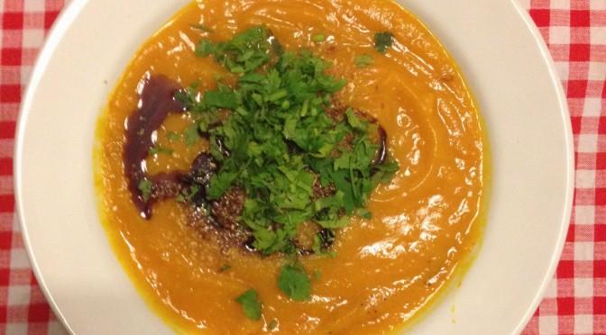 Aliciouslyvegan: Pumpkin soup