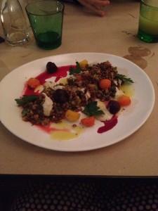 Marks - lentil salad