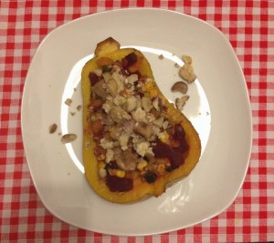 Stuffed pumpkin - so good!