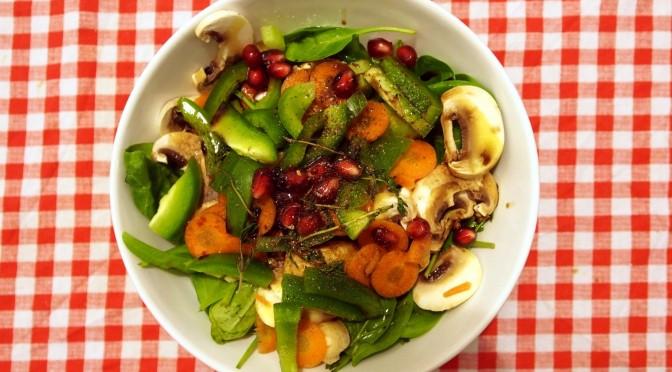 Aliciouslyvegan: A bowl of salad