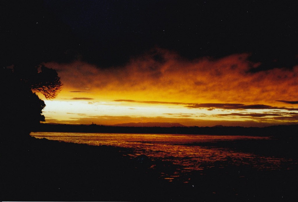 Mount Manganui sunset