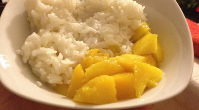 Aliciouslyvegan: Mango sticky rice