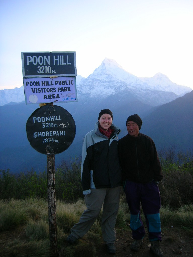 Poon Hill, Annapurna Circuit (Nepal) with my trusted guide & porter Ganesh