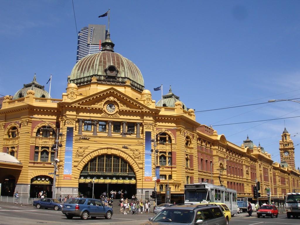 Flinders Street Station, Melbourne (Australia)