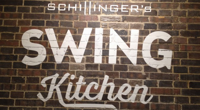 Aliciouslyvegan: Schillinger's Swing Kitchen