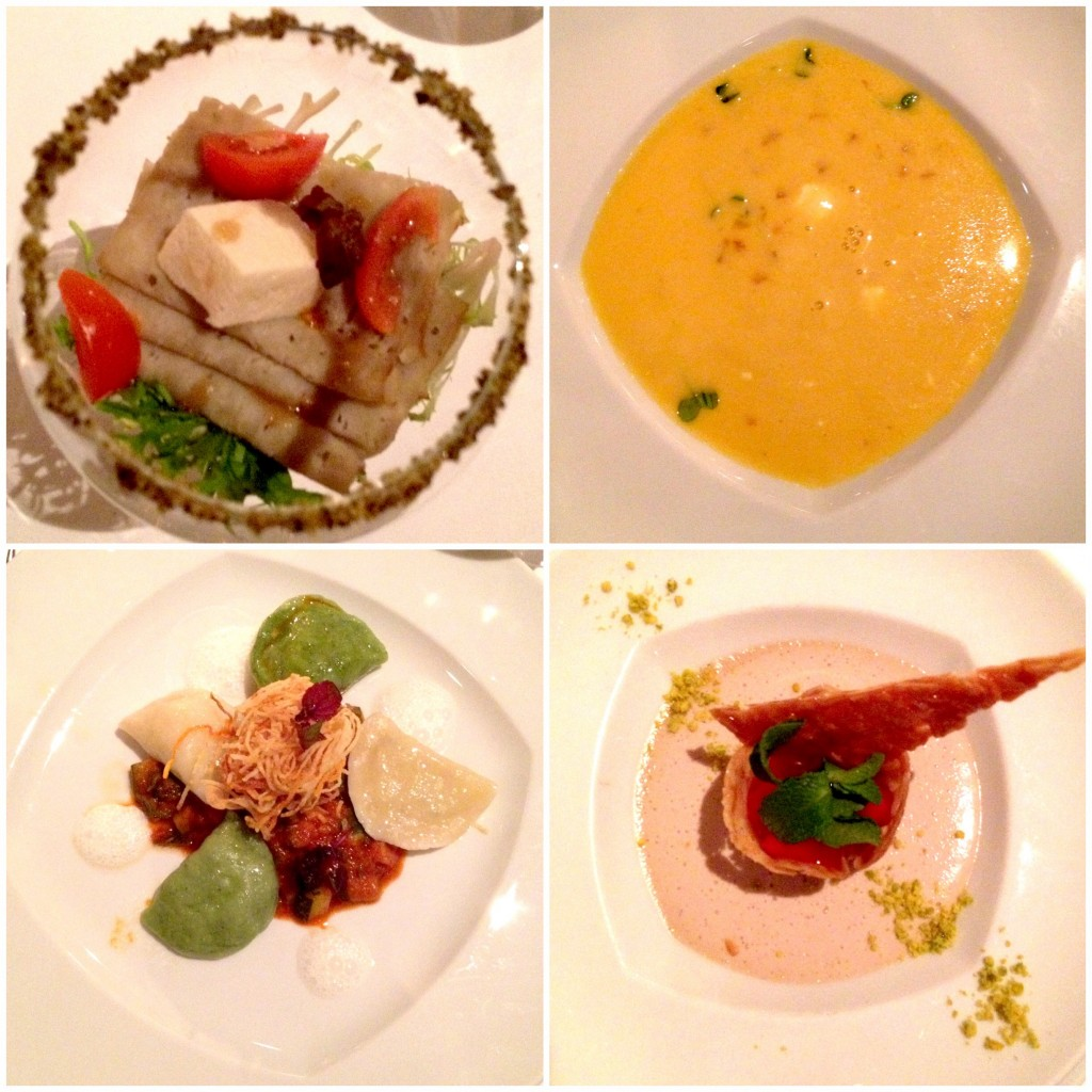 4-course-menu at Vegan Ball