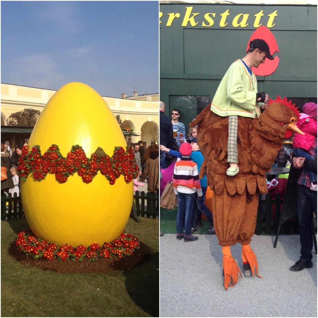 Easter market at Schönbrunn