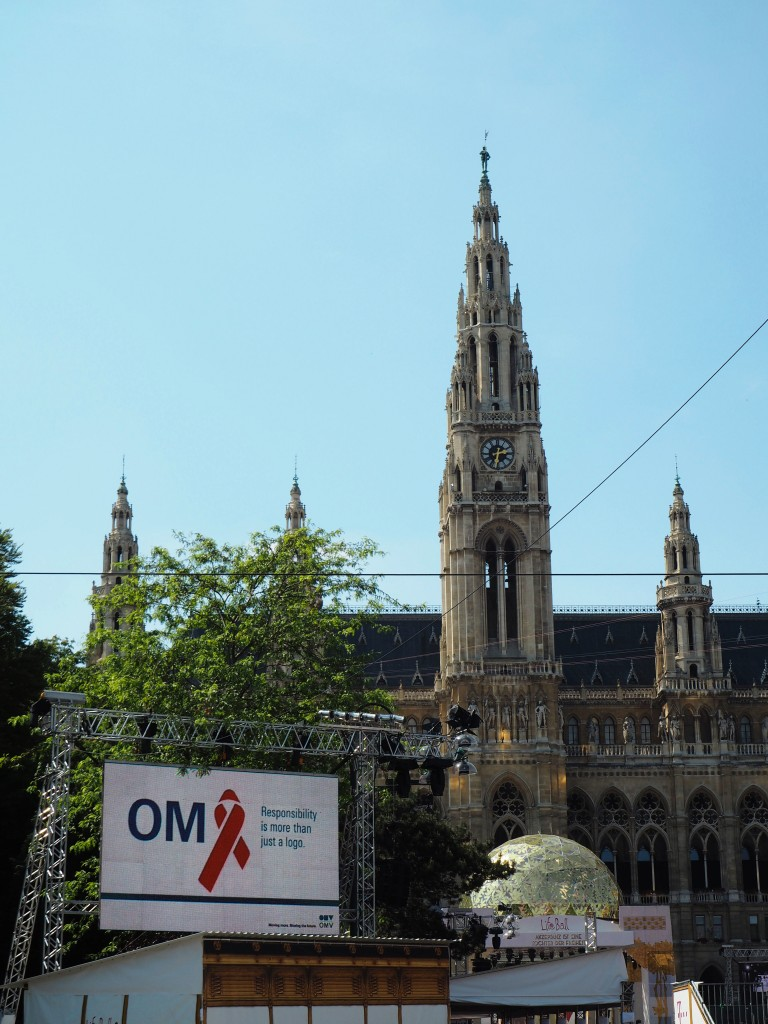 Rathaus is ready for Lifeball