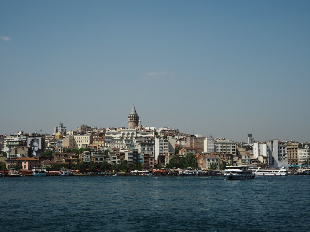 Istanbul Galata Tower ferry