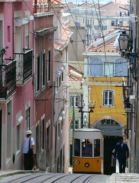 Portugal - Elevador da Bica (Lisbon)