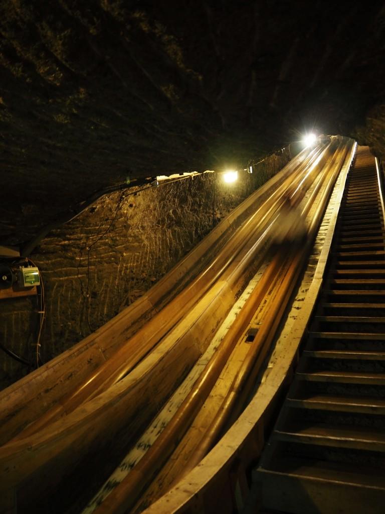 SATC2015 Salzburg salt mine Hallein slide