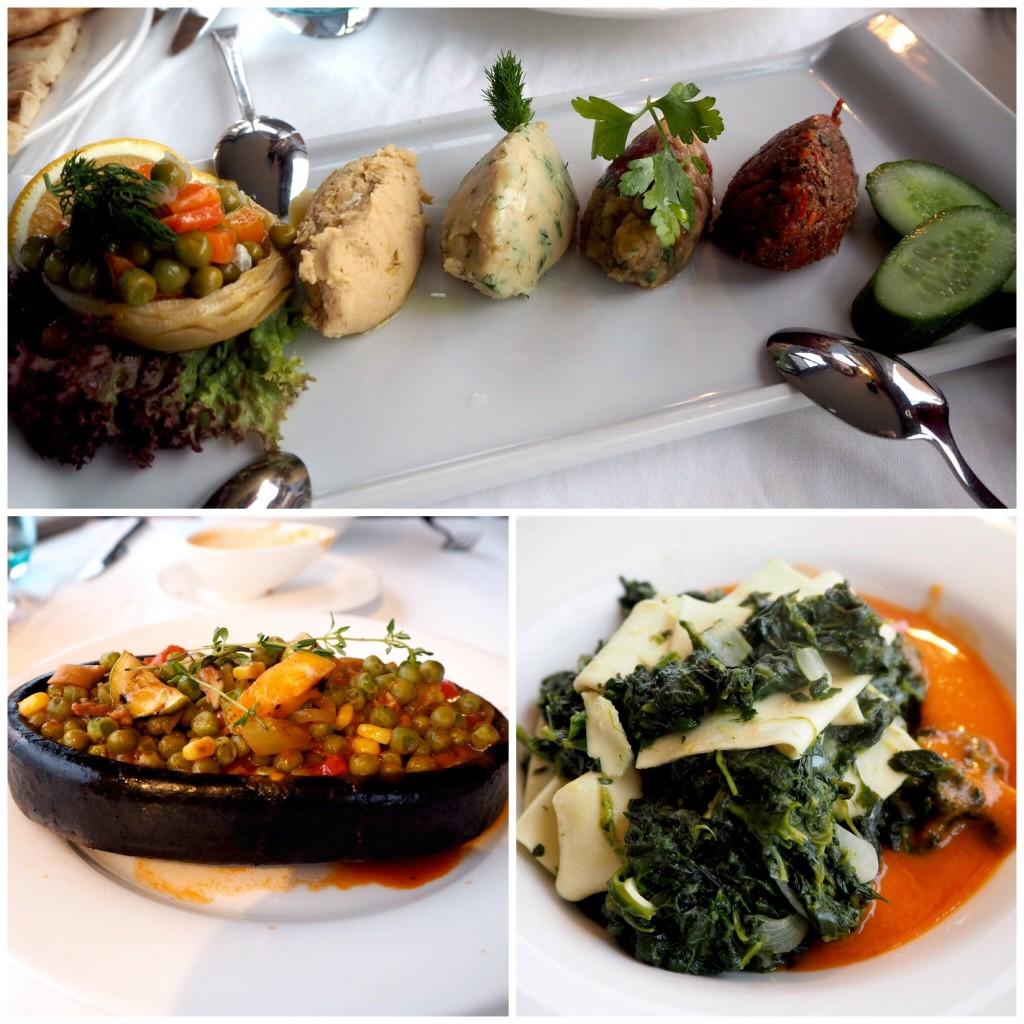 Fine Dine Istanbul restaurant - vegan dinner