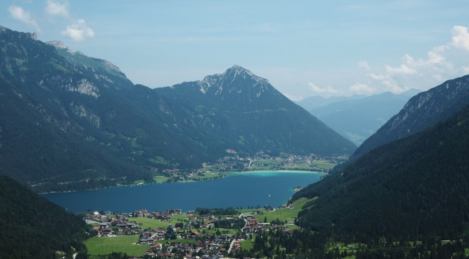 Achensee from Feilalm