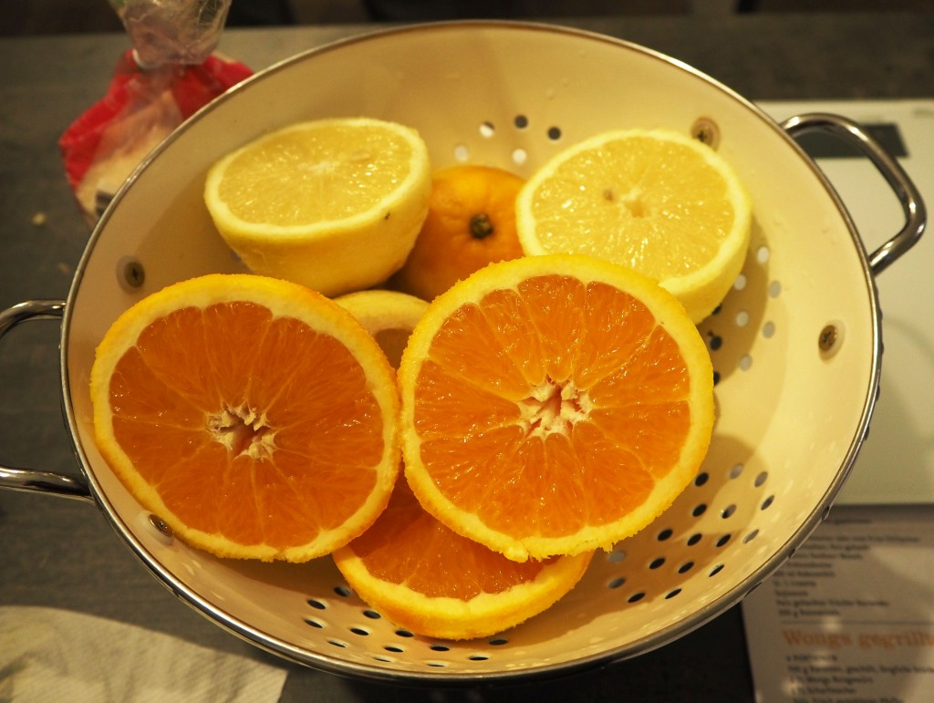 Sonnentor organic lemons and oranges