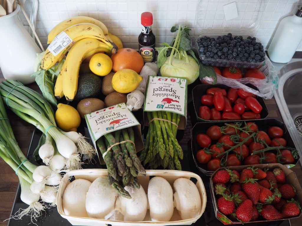 weekly fruit veg haul