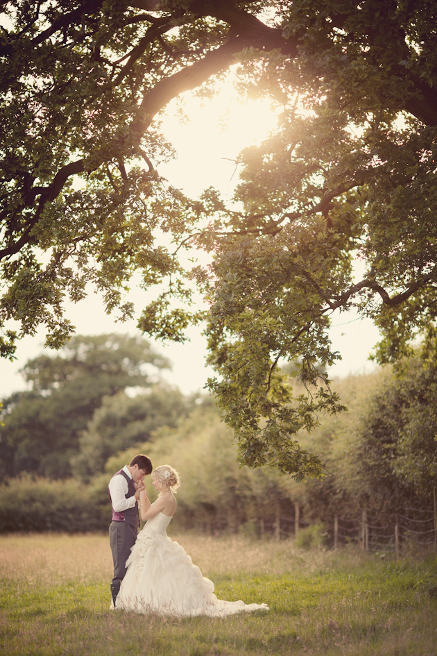 http://bridalmusings.com/2013/11/dusky-pink-fairytale-wedding-in-an-english-barn/