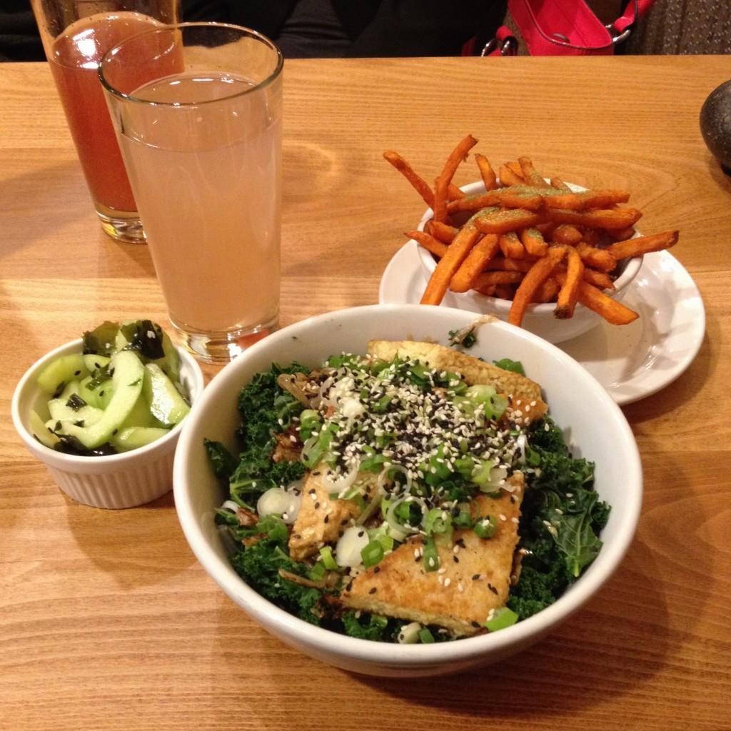 Native Foods Cafe = vegan heaven
