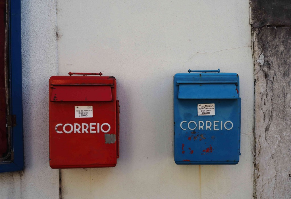 Post boxes Portugal