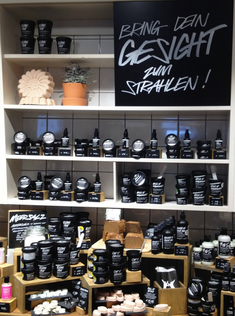 Lush - Face products