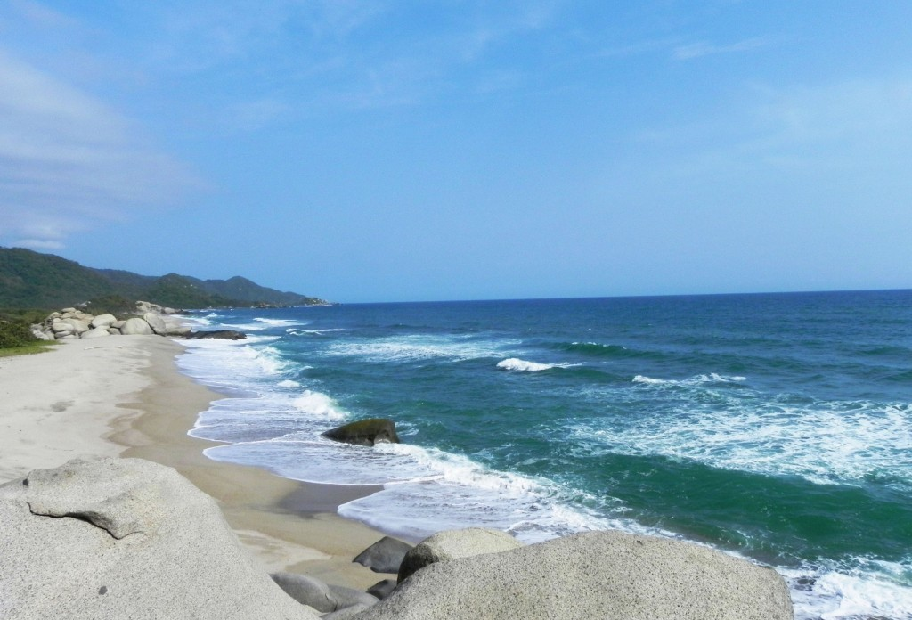 Colombia South America Caribbean Coast Tayrona National Park