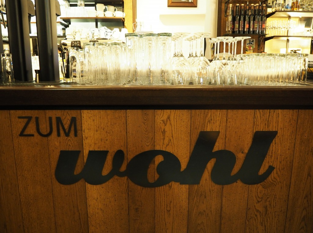 zum wohl Gasthaus bar