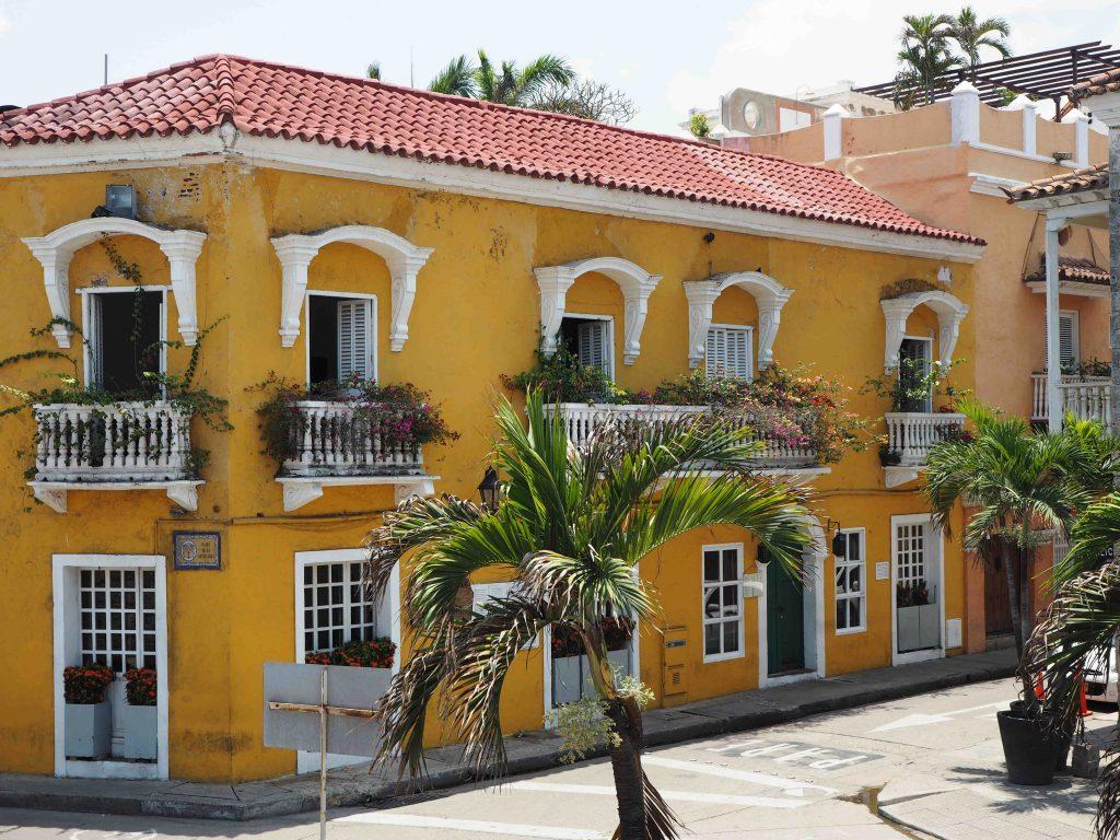 Colombia Cartegena de Indias street San Diego