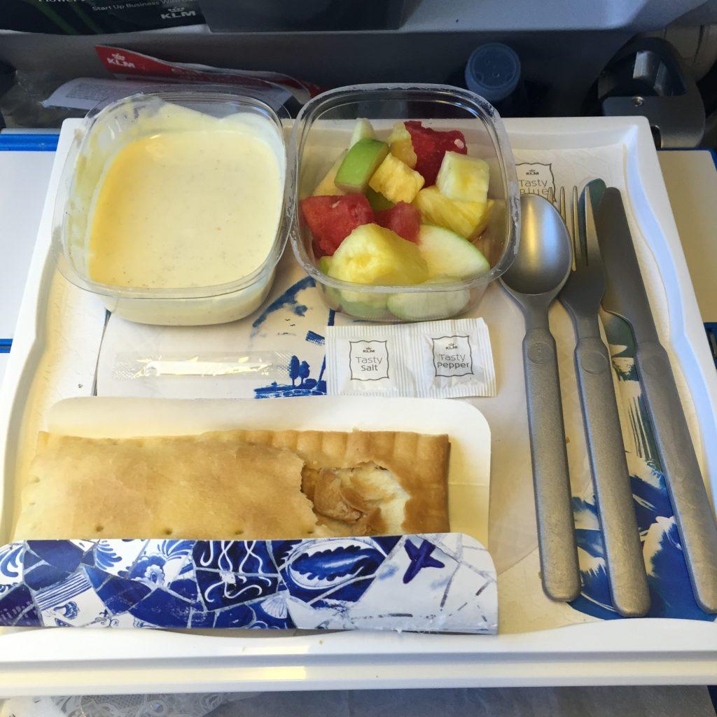 KLM VGML meal AMS - BOG