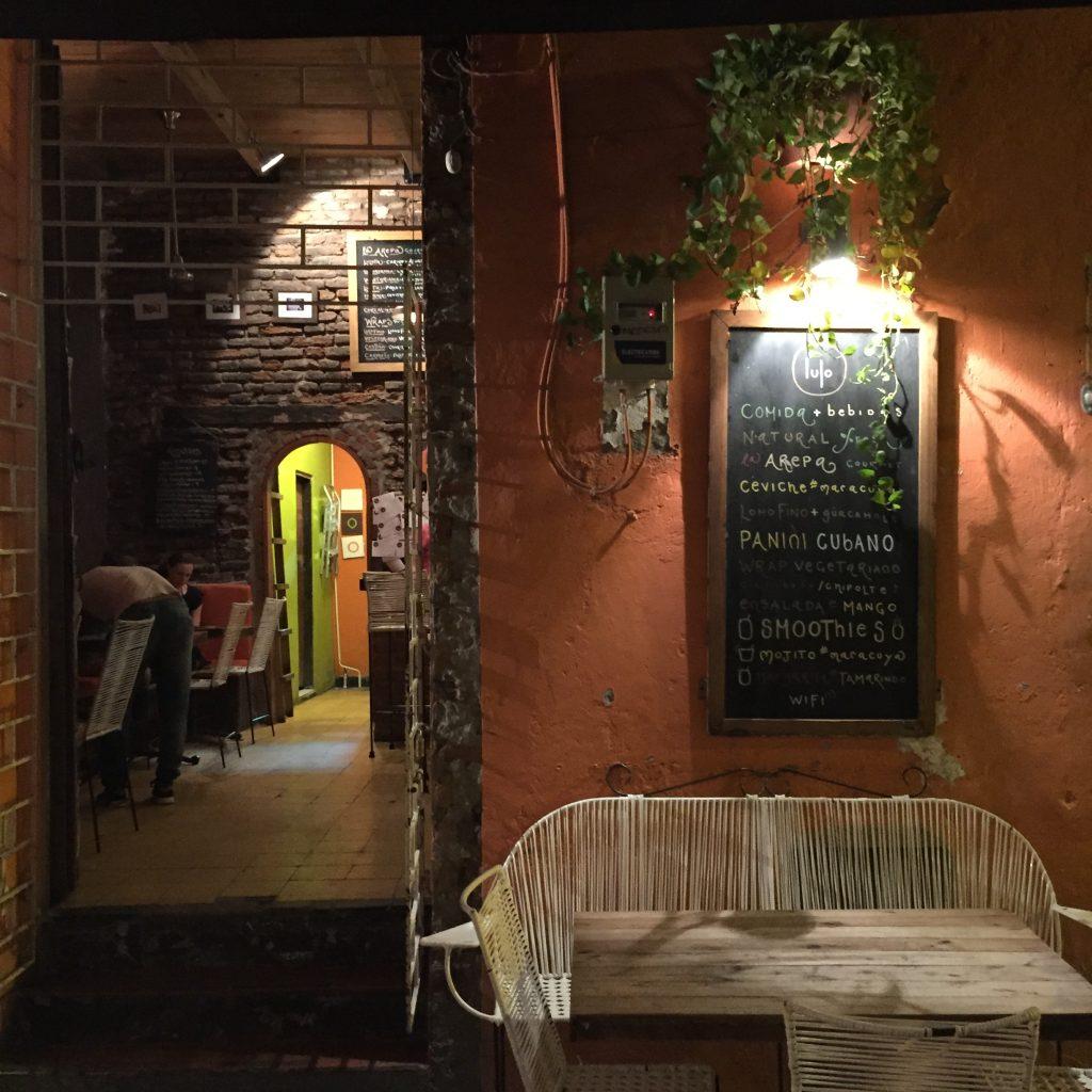 Lulo Cafe Santa Marta vegan