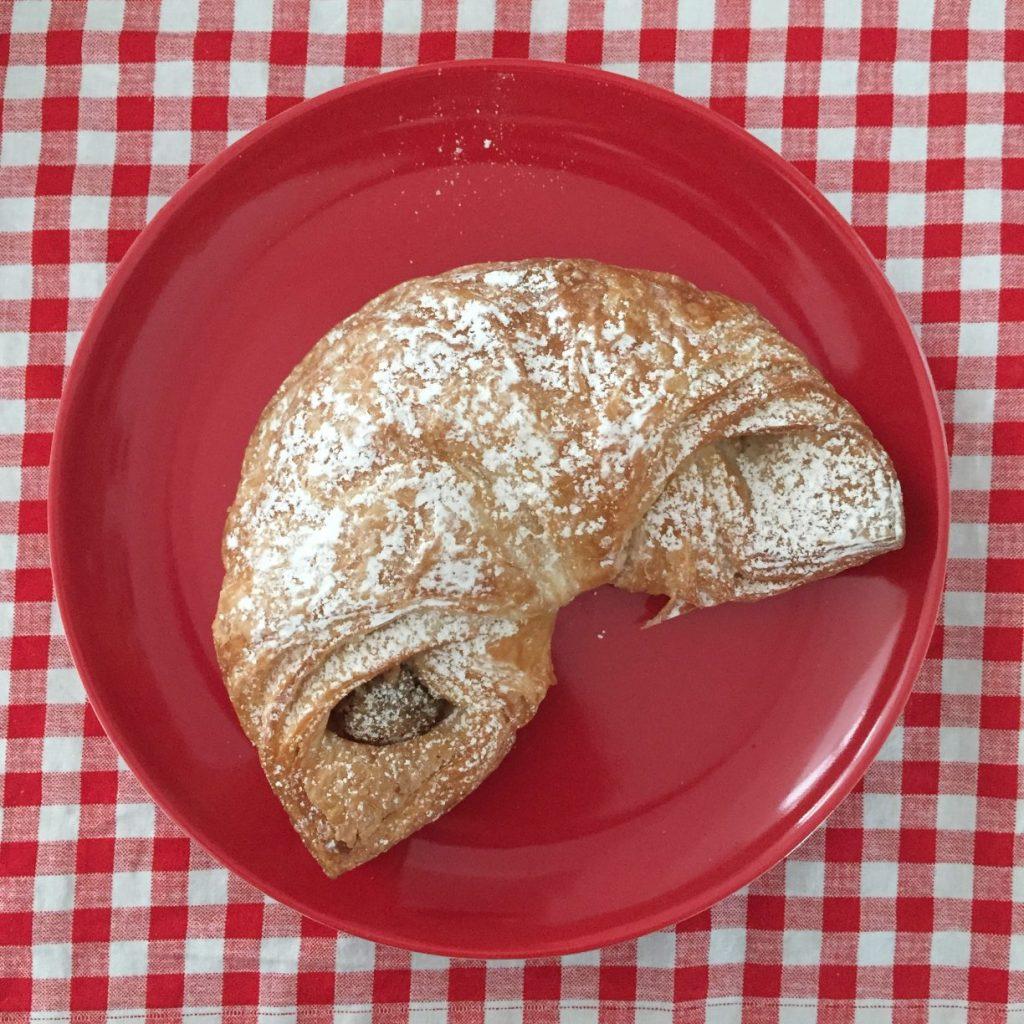 Nut-filled croissant Bernds Welt