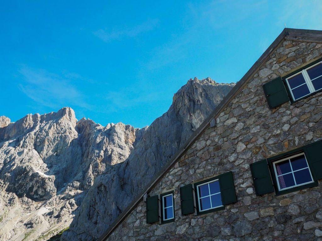 Dachstein via ferrata Klettersteig Hunerschartensteig