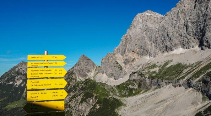 Dachstein Schladming Ramsau Klettersteig Hungerkogel