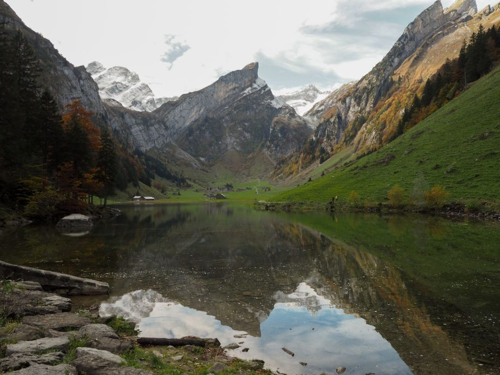 Switzerland hiking Appenzell
