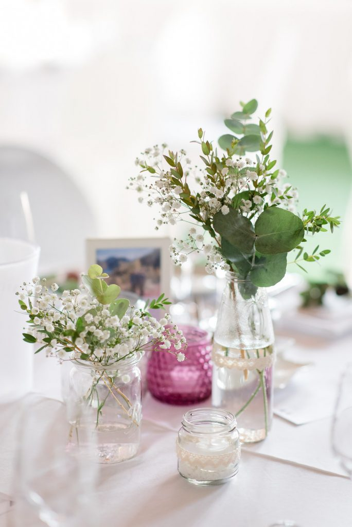 wedding hall decorations diy centrepiece