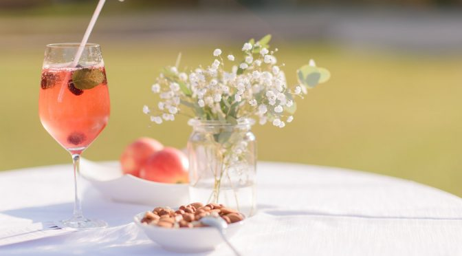 wedding drinks alcohol-free aperitif