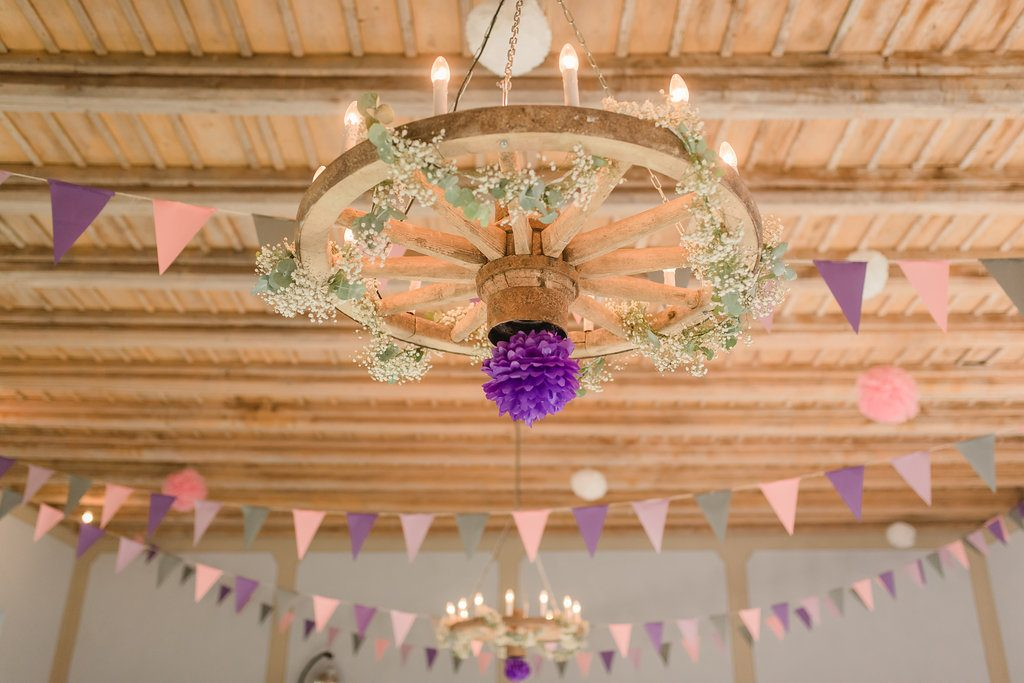 wedding hall decorations diy