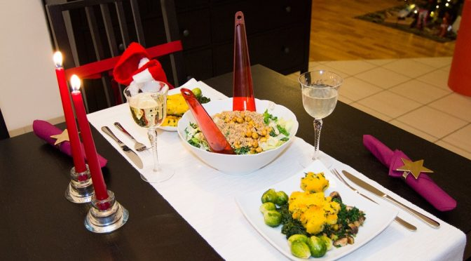 Aliciouslyvegan: Our Christmas Eve dinner