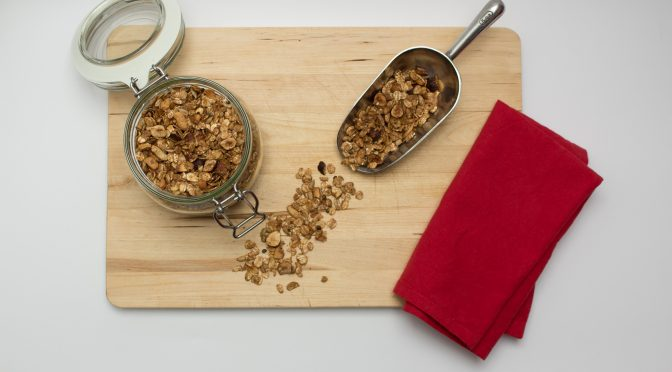 Nutty granola title