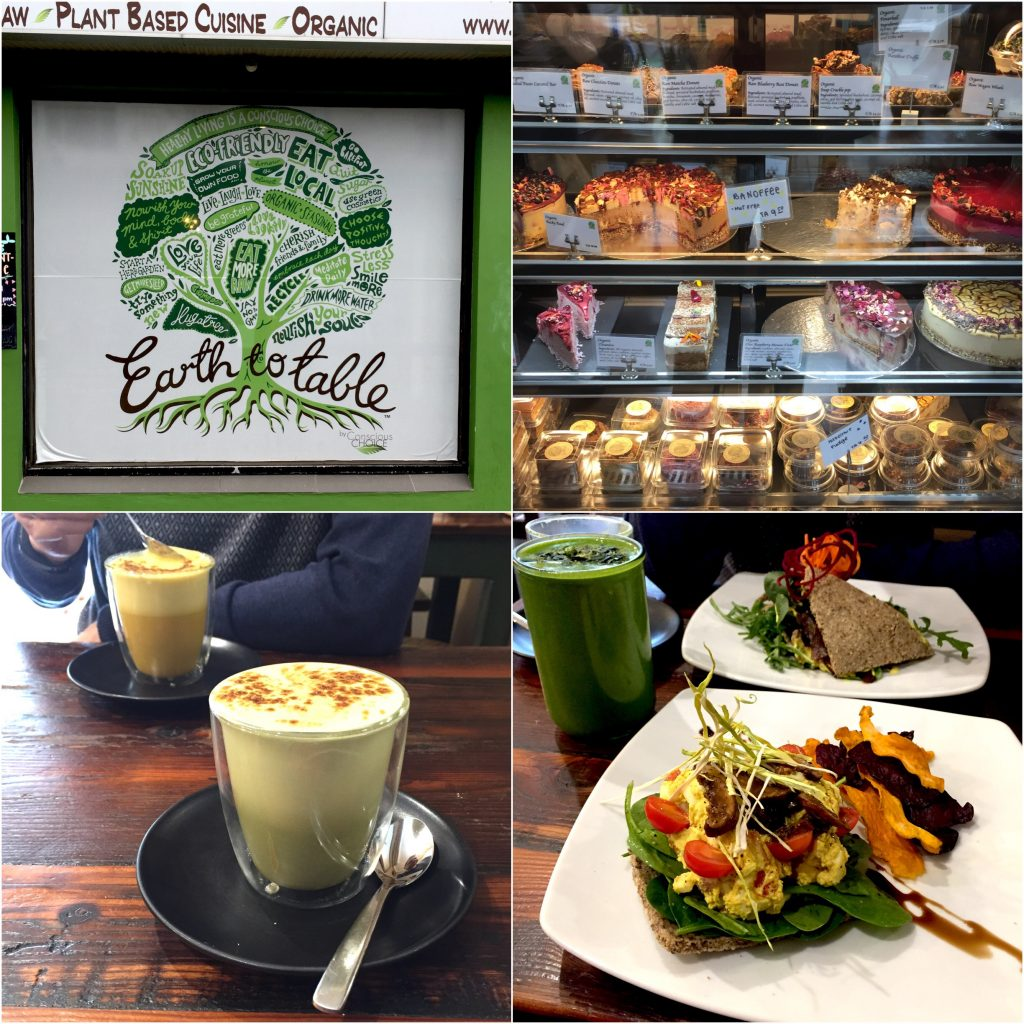 Earth To Table Bondi Sydney vegan